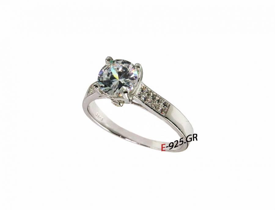 Mονόπετρο δαχτυλίδι ef7c1d2a88f